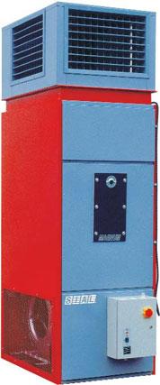 Стационарные генераторы горячего воздуха большой мощности Magnum